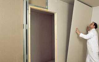 Чем крепить профиль для гипсокартона к стене?