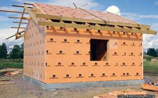 Пенопласт и вата: как утеплить каркасный дом снаружи