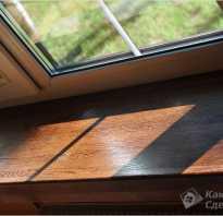 Установка деревянного подоконника: пошаговая инструкция
