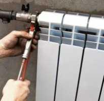 Как правильно повесить батарею под окном?
