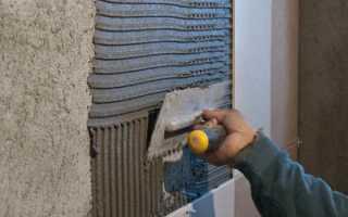 Можно ли приклеить гипсокартон к бетонной стене плиточным клеем