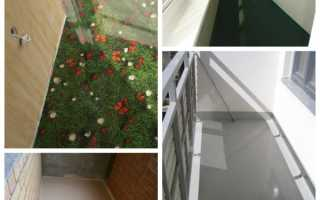Как правильно залить пол на балконе