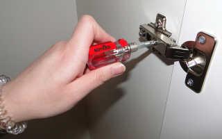 Нулевой риск при монтаже мебельных петель
