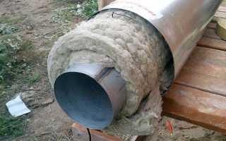 Утепление водопроводных труб – материалы и виды работ