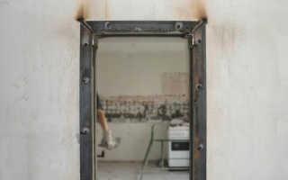 Как сделать дверь в кирпичной несущей стене?