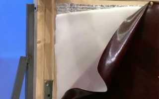 Как утеплить входную деревянную дверь самому