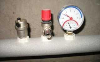Как установить манометр в систему отопления?
