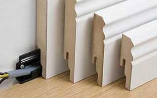 Как прикрепить пластиковые плинтусы к бетонной стене
