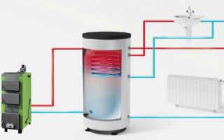 Как подключить теплоаккумулятор к системе отопления?
