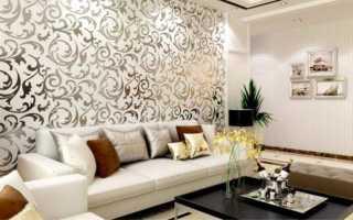 Как красиво состыковать разные обои на стене?