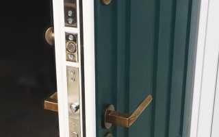 Как убрать царапины на входной металлической двери?