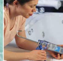 Как приклеить плинтус на ванну