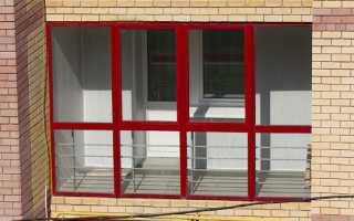 Утепление алюминиевых окон