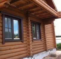 Отделка окон в деревянном доме