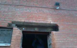Как расширить оконный проем в кирпичной стене?