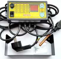 Как подключить терморегулятор к насосу отопления?