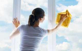 Чем мыть стеклопакеты, рамы и подоконники пластиковых окон?