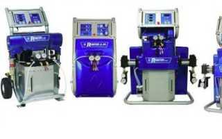 Оборудование для нанесения пенополиуретана: цена, установка для напыления, отзывы