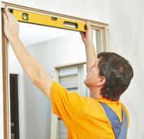 Как правильно монтировать межкомнатные двери?