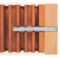 Как закрепить уголок к кирпичной стене?
