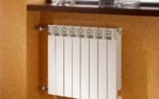 Как поменять алюминиевый радиатор отопления?