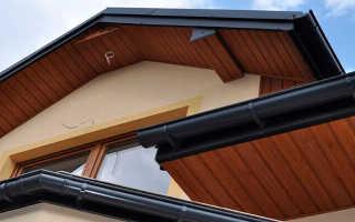 Подшивка свесов крыши: материалы и обшивка крыши дома