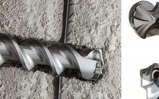 Как просверлить арматуру в бетоне? Подбираем оснастку