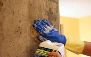 Как покрасить бетонную стену: выбор краски, порядок работ