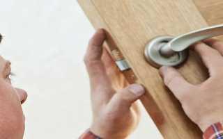 Как правильно открыть ручку межкомнатной двери?