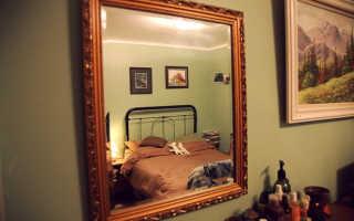Как закрепить зеркало на гипсокартоновой стене?