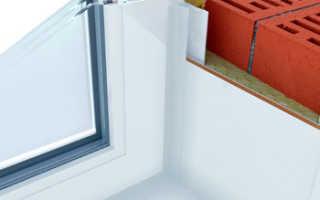 Как утеплить откосы пластиковых окон с улицы и внутри