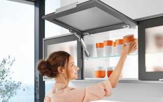 Навесные полки на кухне: какие бывают и как повесить?