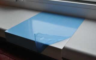 Накладка на подоконник: инструкция по монтажу
