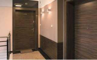 Откосы для входных дверей из ламината