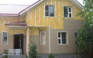 Как утеплить дом снаружи сайдингом: описание процесса