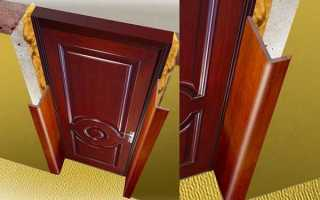 Панели МДФ для отделки откосов входной двери