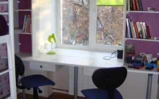 Стол с подоконником для школьника
