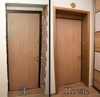 Чем отделать коробку входной двери?