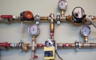 Как выровнять давление в системе отопления?