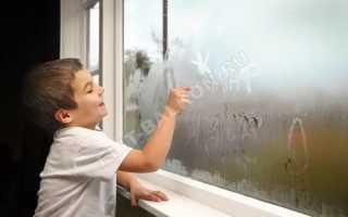 Почему потеют пластиковые окна и что делать (7 способов)