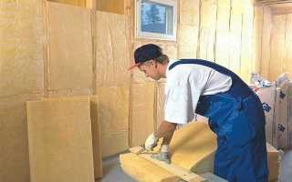 Утеплитель для бани изнутри: выбираем материал на стены