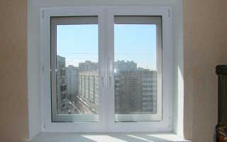 Установка пластиковых откосов на окна своими руками