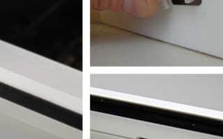 Дренажные отверстия в окнах ПВХ
