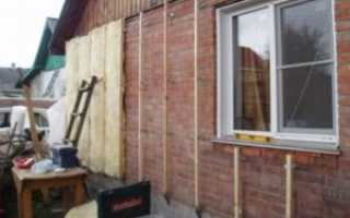 Самостоятельное утепление кирпичного дома снаружи различными материалами