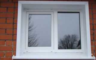 Как поставить металлические откосы на пластиковые окна снаружи?