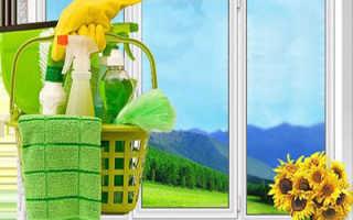 Как отмыть пластиковые откосы на окнах