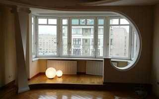 Как присоединить балкон к кухне и утеплить?