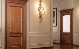 Как восстановить шпон на двери?