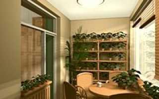 Советы по отделке балкона