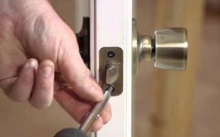 Как починить магнитный замок на межкомнатной двери?
